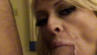 Fascinating mature latin blond Natasha Skinski has all the right curves
